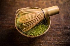Matcha green tea Stock Photo
