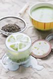 Matcha green tea Royalty Free Stock Photography