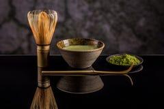 Matcha green tea Stock Photography
