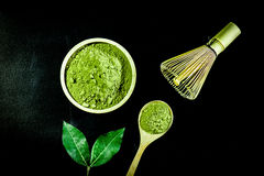 Matcha green tea Royalty Free Stock Image