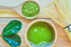 Matcha green tea royalty free stock images