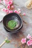 Matcha green tea Stock Photos