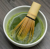 Matcha green tea Stock Image