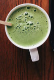 Matcha Greentea latte Στοκ Φωτογραφία