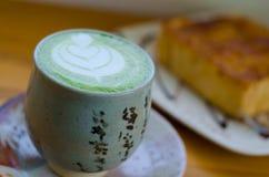 Matcha japonês do chá verde foto de stock royalty free