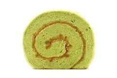 Matcha kasutera cake Stock Images