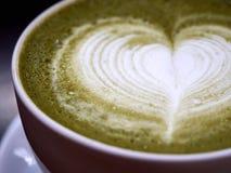 Matcha latte royaltyfri foto