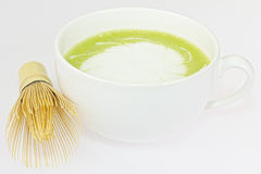 Matcha-latte Stock Photos
