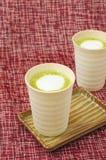 Matcha latte Στοκ Εικόνες