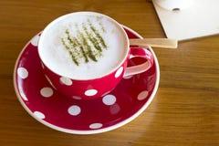 Matcha Latte Cup Stock Photos