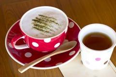 Matcha Latte Cup Royalty Free Stock Photos