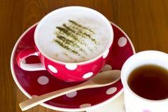 Matcha Latte Cup Royalty Free Stock Photo