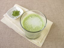 Matcha latte Royalty Free Stock Images