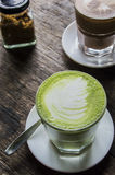 Matcha Latte , Green Tea Stock Photography
