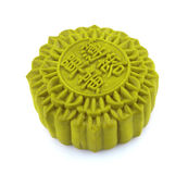 Matcha Mooncake Royalty Free Stock Photo