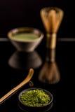 Matcha, powder green tea Royalty Free Stock Image