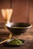 Matcha, powder green tea Royalty Free Stock Images
