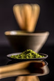 Matcha powder Royalty Free Stock Images