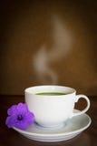 Matcha quente do chá verde foto de stock royalty free