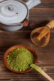 Matcha set Stock Photography