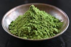 Matcha tea Arkivbilder