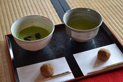 Matcha tea Stock Images