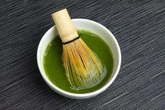 Matcha tea Stock Image