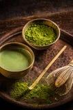 Matcha tea Stock Images