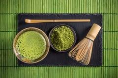 Matcha tea Stock Photography