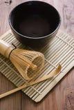 Matcha Tea Set Stock Image