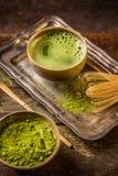 Matcha tea Stock Photos