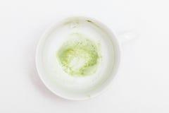 Matcha-Tee Latte Stockfotos