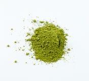Matcha verde japonês Fotografia de Stock