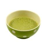 Matcha vert japonais prêt à boire Image libre de droits