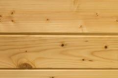 Matchboards del techo de la madera de pino Imagen de archivo