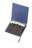 Matchbook. A matchbook close up shot Royalty Free Stock Photos