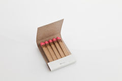 Matchbook isolated Royalty Free Stock Image