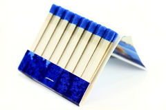 Matchbook macro photo Stock Photography