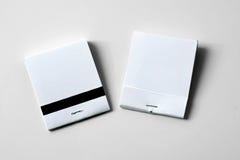 Matchbooks blanc photo libre de droits