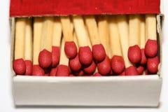 matchbox открытый Стоковое Изображение