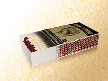 Matchbox Stock Photo