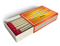Matchbox Royalty Free Stock Photo
