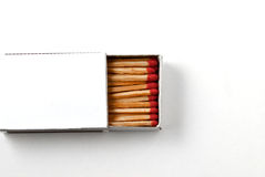 Matchbox isolated on white background royalty free stock photography