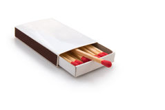 Matchbox Royalty Free Stock Photography