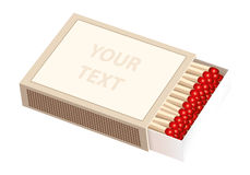 Matchbox Horizontal Royalty Free Stock Photo