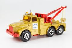 Model of heavy wreck truck stock photography