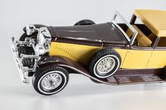 Matchbox Models of Yesteryear Y-4 Duesenberg Model J Town Car royalty free stock photos
