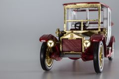 Matchbox Models of Yesteryear Y-7 Rolls-Royce 1912 stock images