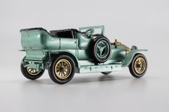 Matchbox Models of Yesteryear Y-15 Rolls-Royce Silver Ghost royalty free stock image