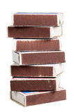 Matchboxes на белой предпосылке Стоковое Изображение
